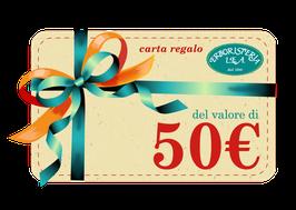 Carta regalo di 50€