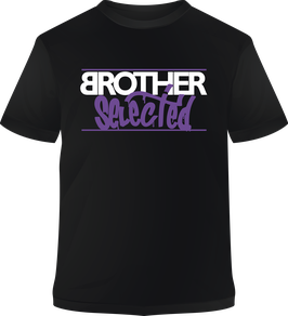 "Camiseta ""Brother Selected"" manga corta"