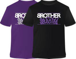 "Pack 2 x Camisetas ""Brother Selected"" manga corta"