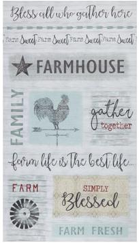 Farm Sweet Farm by Contempo Studios - Pannello Chiaro