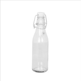 STRÖMSHAGA Glasfläschchen mit Porzelandeckel