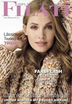 Filati Magazin / Journal 56 Chunky Knit für Einsteiger Lana Grossa