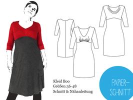 Papierschnitt Kleid Boo