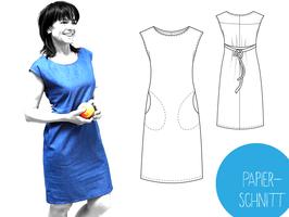Papierschnittmuster Kleid Strada