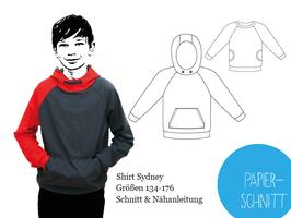 Papierschnitt Kindershirt Sydney