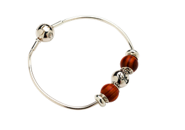 Wooden- & Silver bracelet  Wildfang bracelet set