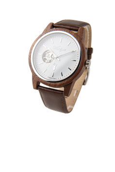 GAMSKAR Automatic Watch with leather strap