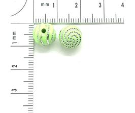 Kunststoff Hellgrün verziehrt | ca.8 mm