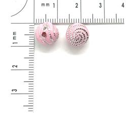 Kunststoff Rosa Hell verziehrt | ca.8 mm