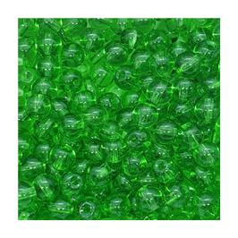 Galsperlen glänzend grün | 6 mm