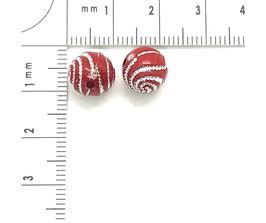 Kunststoff Rot verziehrt | ca.8 mm