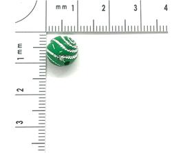 Kunststoff Grün verziehrt | ca.8 mm