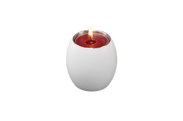 Teelichthalter  Oval
