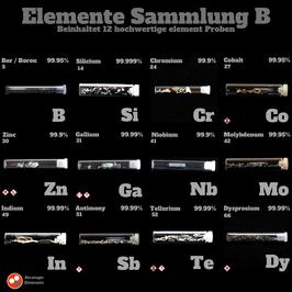 Elemente Sammlung B