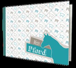 """Mein Pferd""– Format DIN A5 quer"