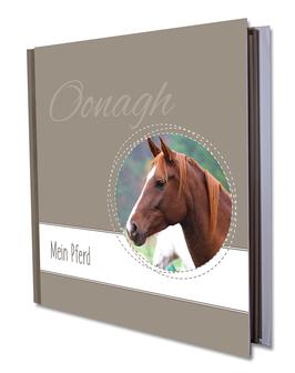 """Mein Pferd"" – Personalisiert – Format 21x21 cm"