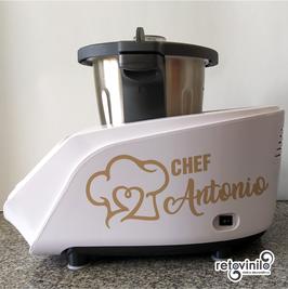 Robot de Cocina - Chef Nombre 2