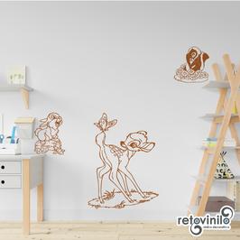 Infantiles / Dibujos / Bambi y sus amigos