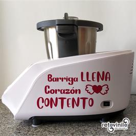 Robot de Cocina - Barriga llena, corazón contento
