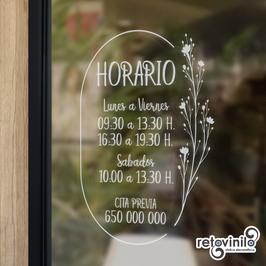 Horarios - Hora natural