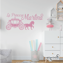 Infantiles / Nombres / El carruaje de la princesa