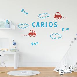 Infantiles / Nombres / Coches y run run