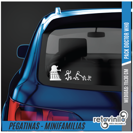Familia Pack Doctor Who