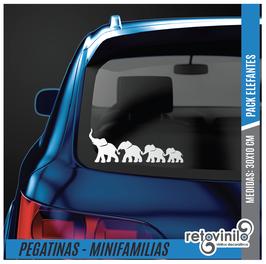 Familia Pack Elefantes