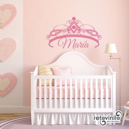 Infantiles / Nombres / Corona de princesa