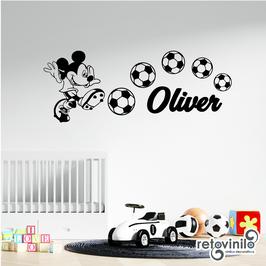Infantiles / Dibujos / Mickey futbolero