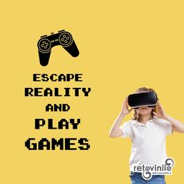 Videojuegos - Escapa de la realidad