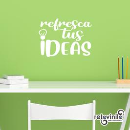 Frases en A4 - Refresca tus ideas