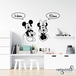 Infantiles / Dibujos / Mickey y Minnie