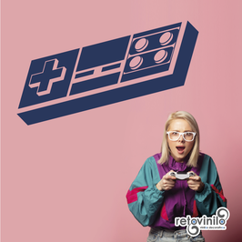 Videojuegos - Mando Nintendo NES
