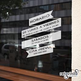 Horarios - Banda Informativa