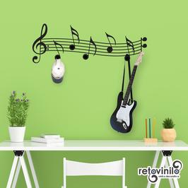 Percheros - Notas Musicales