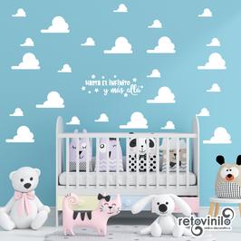 Infantiles / Dibujos / Nubes de Toy Story
