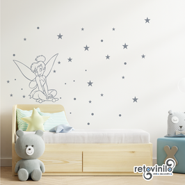 Infantiles / Dibujos / Estrellas y Campanilla