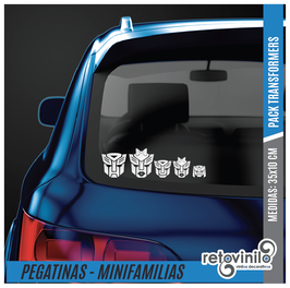Familia Pack Transformers