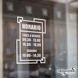 Horarios - Encuadre
