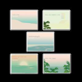 Relax 11 Postkarten Set