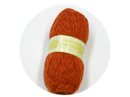 Shetland Farbe 4 lachsrot