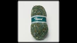 Horstia Tweed Farbe 9 dunkel grün