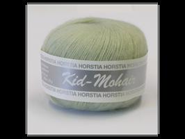 Kid-Mohair Farbe 144 weißgrün