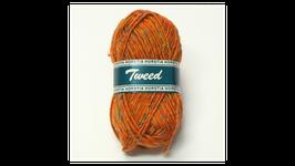 Horstia Tweed Farbe 13 orange