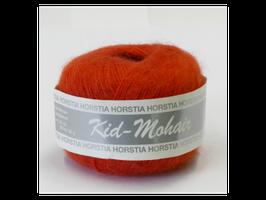 Kid-Mohair Farbe 128 verkehrsrot