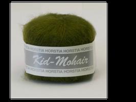 Kid-Mohair Farbe 140 olivgrün