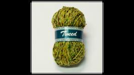 Horstia Tweed Farbe 20 gelb-braun