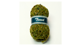 Horstia Tweed Farbe 10 grün
