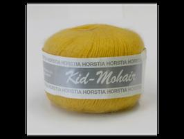 Kid-Mohair Farbe 123 gelb